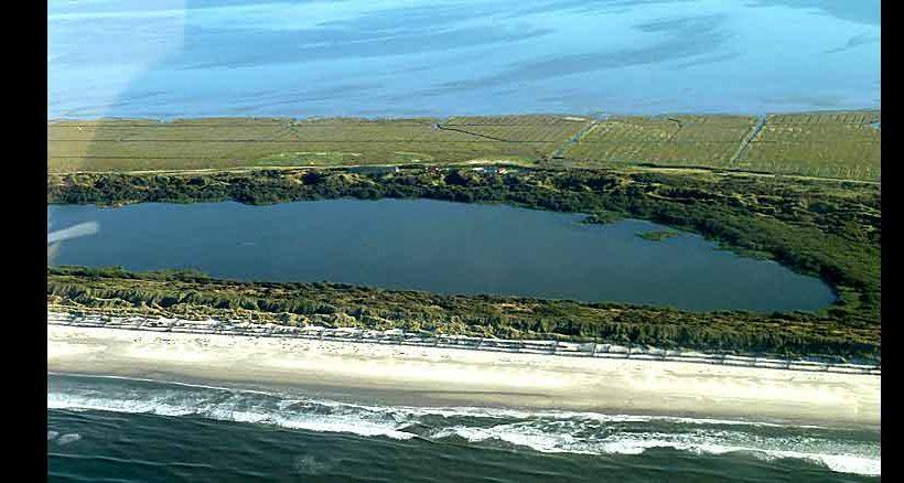 Der Hammersee ist der größte Süßwassersee der ostfriesischen Inseln und ein beliebtes Ausflugsziel.