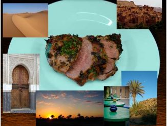 Lammkeule auf marokkanische Art.