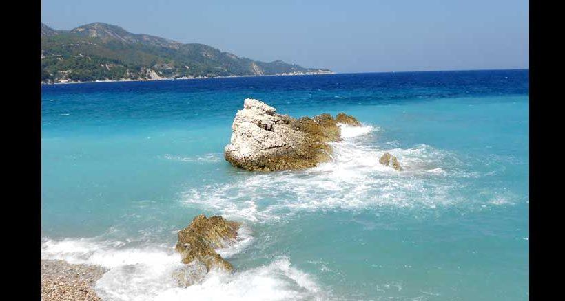 Die Farben Griechenlands findet man im Mittelmeer