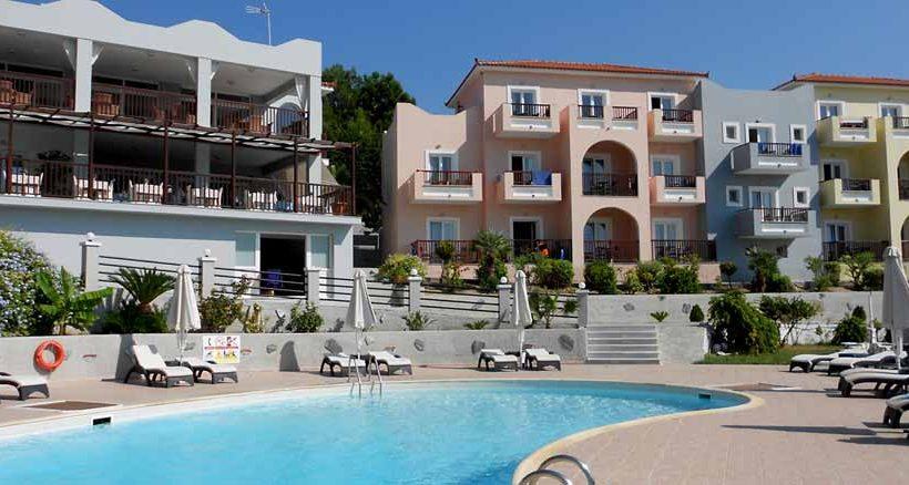 Das Hotel Naftilos in Pythagorion