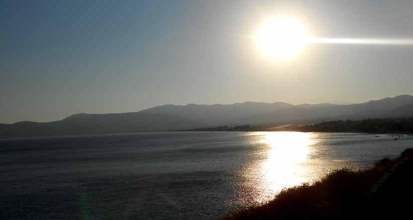 Wenn die Sonne im Meer vergeht...